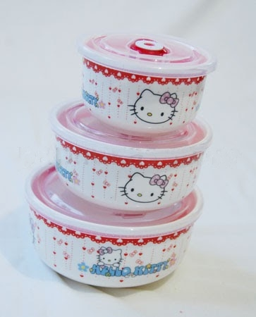 Set Wadah Hello Kitty B