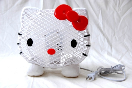 Kipas Angin Kepala Hello Kitty A