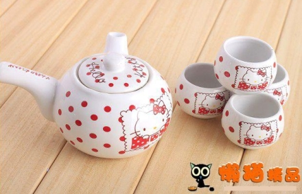 tea set hello kitty C